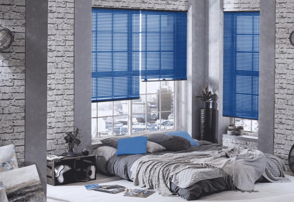 Aluminium Venetian blinds and metal blinds